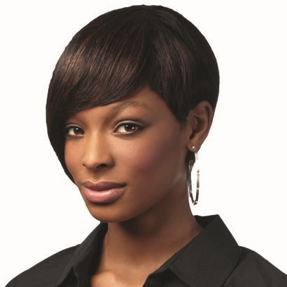 Sleek Human Hair Chanelle Wig